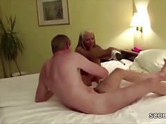 German Teen Get Anal Homemade fuck by Big Dick Stranger