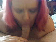 Girlfriend BJ With Cumshot P2