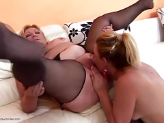Insane group sex with mature moms and pissing