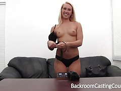Blonde Anal Lover's Amazing Casting Tape