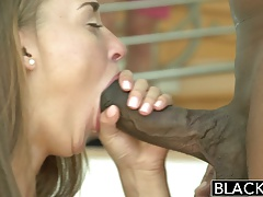 BLACKED Sexy Brunette Teen vs BBC