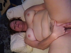 Wife plays with herself